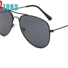Новые крутые модные ртутные ультрафиолет-стойкие детские очки для мальчиков, очки для девочек в металлической оправе, детские солнцезащитные очки 4,17