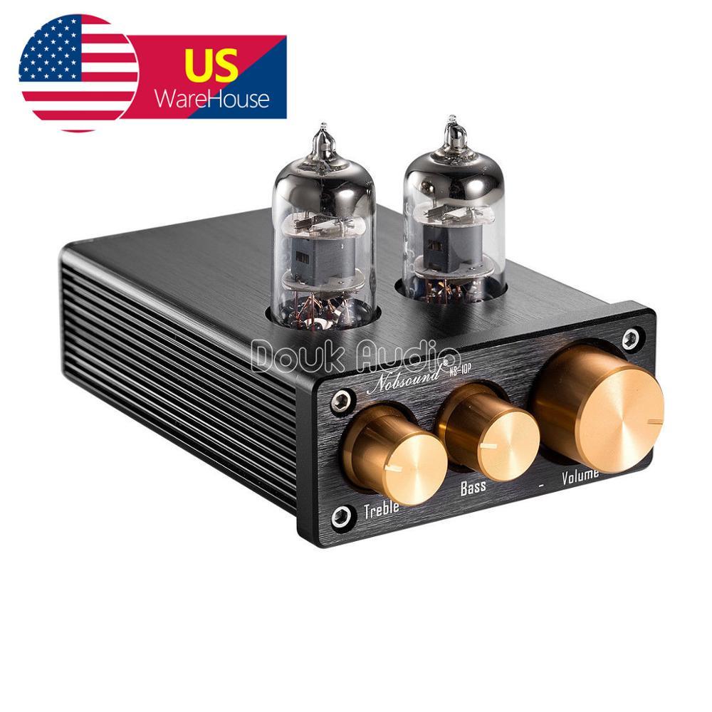 NS-10P Nobsound Mini 6J1 préampli à Tube sous vide préamplificateur Audio HiFi avec contrôle des basses aigus
