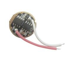 1 pièces 10 w 4 mode 20mm Base entrée 3.7 v ~ 4.2 V sortie 3 v 2.2A LED pilote pour Cree 10 W XML XM L T6/L2/U2 lampe de poche puce