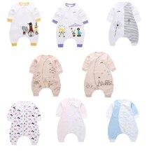 DALEMOXU Baby Sleeping Bag Summer and Autumn Cotton Adjustable Toddler Sleep Sack Cartoon Detachable Sleeve Pajamas Kick Quilt