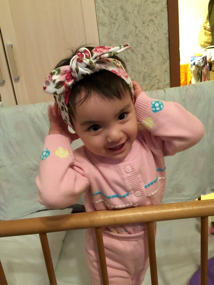 3a7461b0162e 1 pieces 2015 Cute Newborn Baby Cool Girls Printing Knot Elasticity  Headband Cotton Children Girls Baby Hair Accessories T14 - aliexpress.com -  imall.com