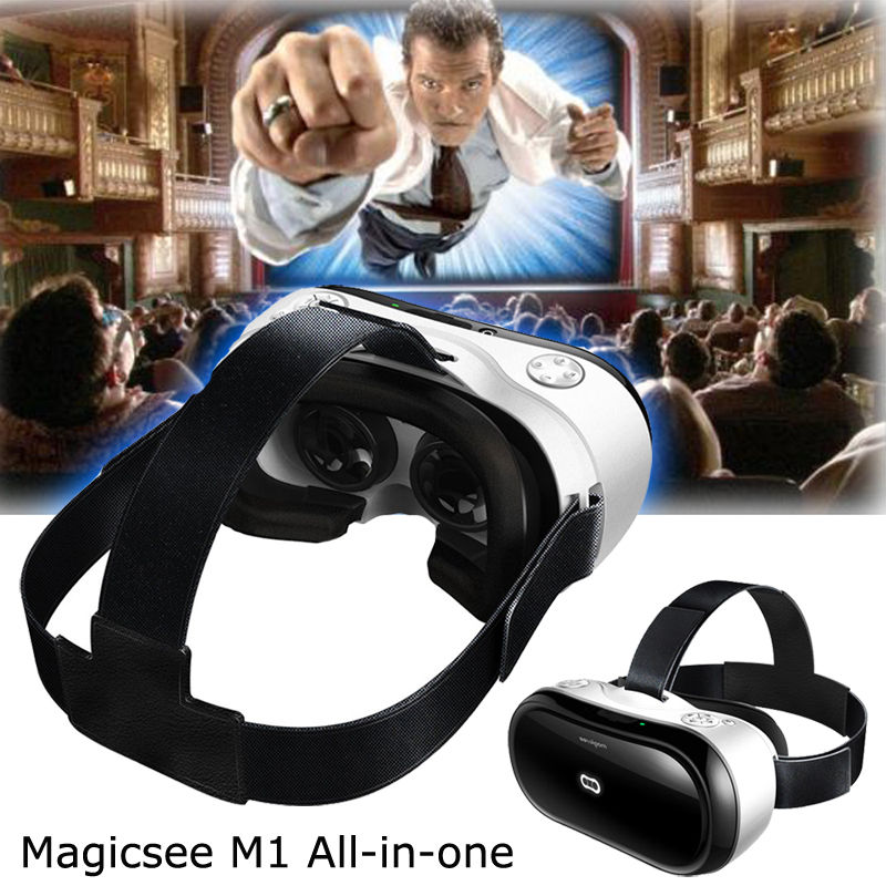 Free shipping Magicsee M1 ALL IN ONE font b VR b font Virtual Reality 3D Glasses