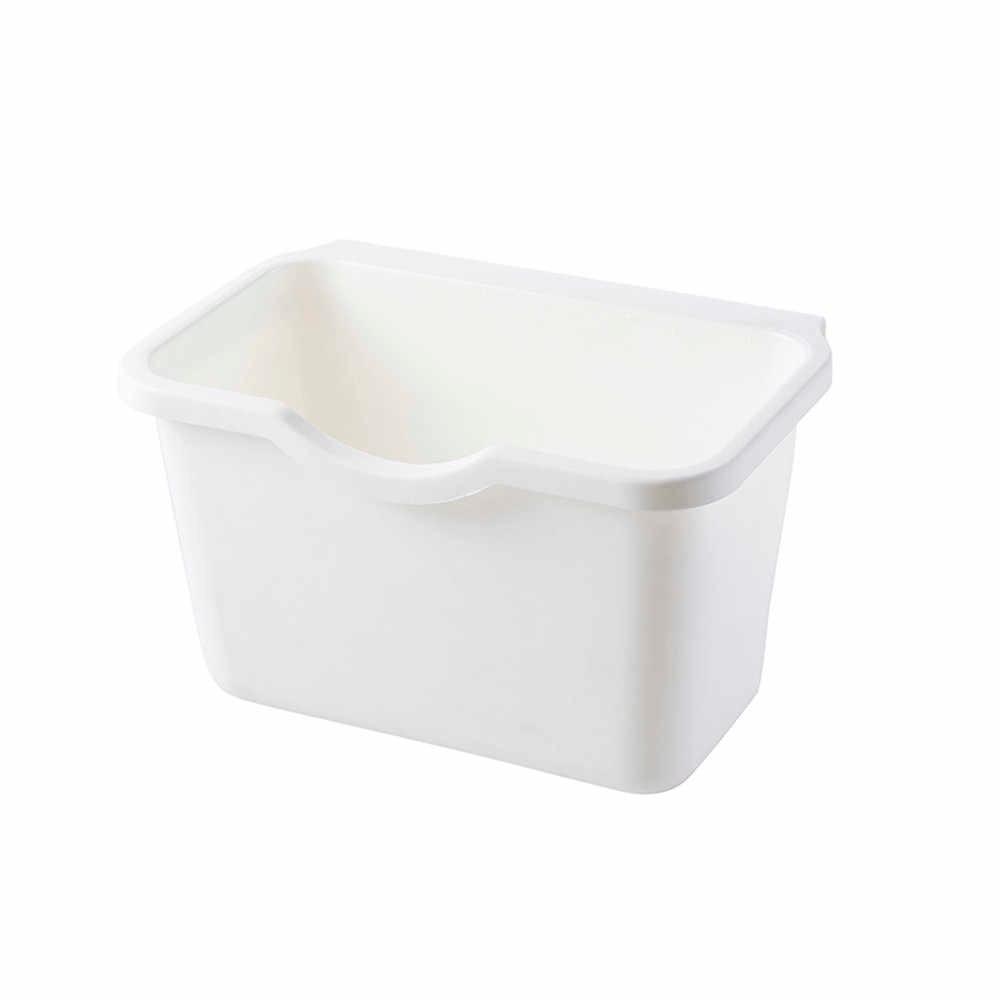 Armadio da cucina Porta Appeso Cestino Della Spazzatura Bin Può Contenitore di Carta Cestino della Spazzatura di Plastica Per La Casa Calda di Stoccaggio # BZ