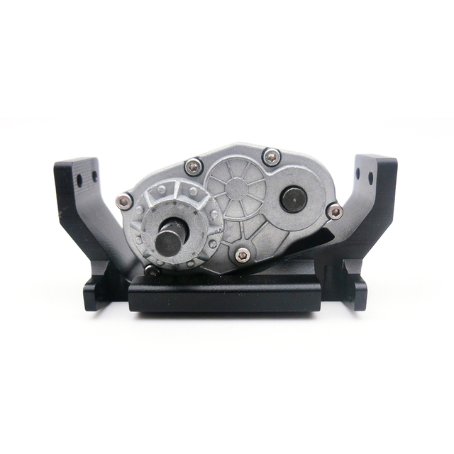 RC Crawler 1:10 73mm Metal Transfer Case with Mount Holder for 1/10 RC4WD Gelande II D90