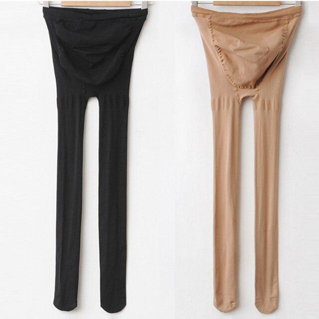 Meias quentes de inverno Mulheres adicionar virilha seamles crotchless panty hose meias plus size meias de nylon mulheres grávidas