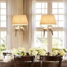 Средиземноморские птицы подвесной светильник бар ресторан спальня