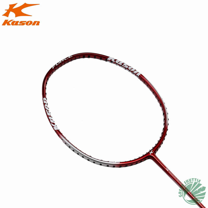 2019 New Arrival Kason Carbon Eastic & Durable 25-27 Lbs Amateur Intermediate & Senior T210 High Carbon Badminton Racket