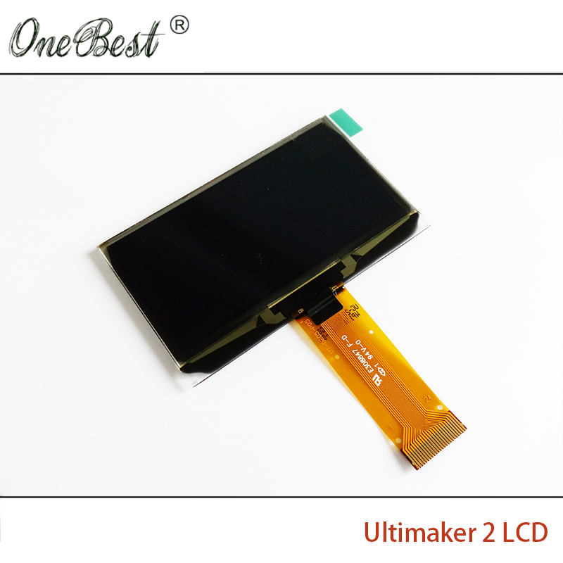 3D printer accessories Ultimaker 2 dedicated LCD 2.42 OLED display Genuine Spot  the new value hot selling  Free shipping 3d printer parts ultimaker v2 control board ultimaker 2 generations board interface board with lcd genuine spot free shipping