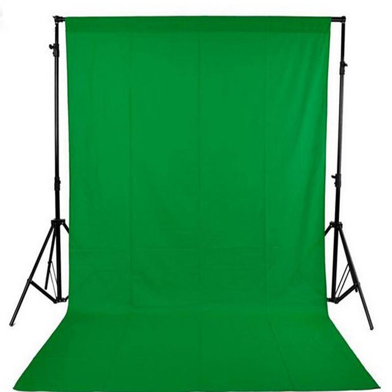 DAWNKNOW Green screen cotton Muslin background Photography Solid color backdrop lighting PS Cutout studio Chromakey For Photo photo lighting studio chromakey green screen muslin background backdrop 3x6m