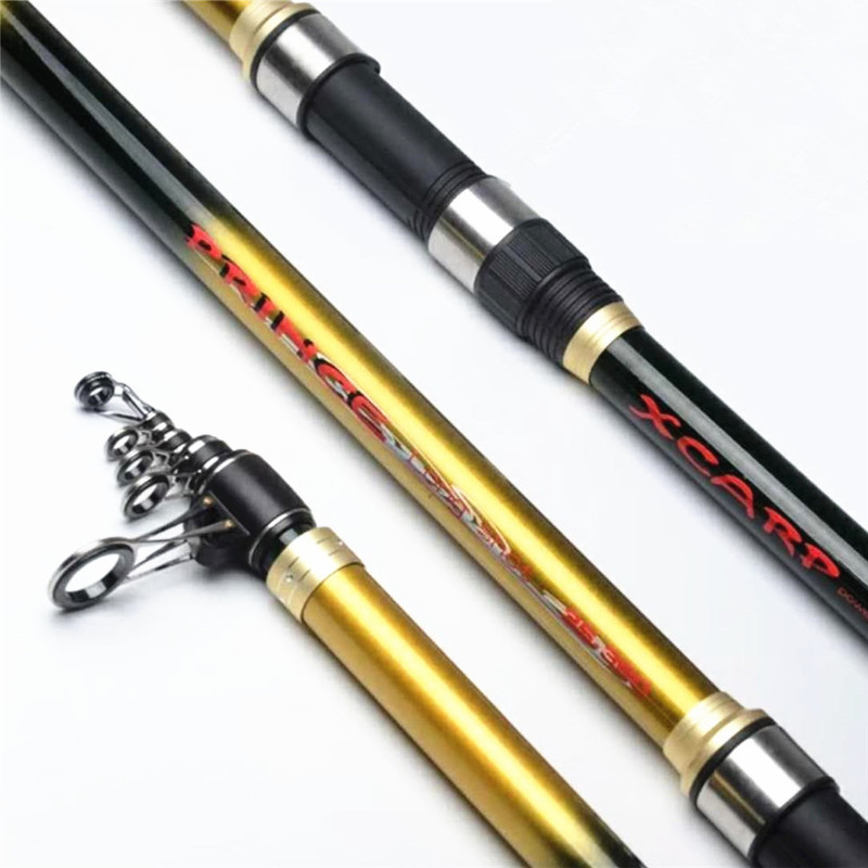New carbon surf fishing rod 3 6 3 9 4 2 m 4 section distance throwing