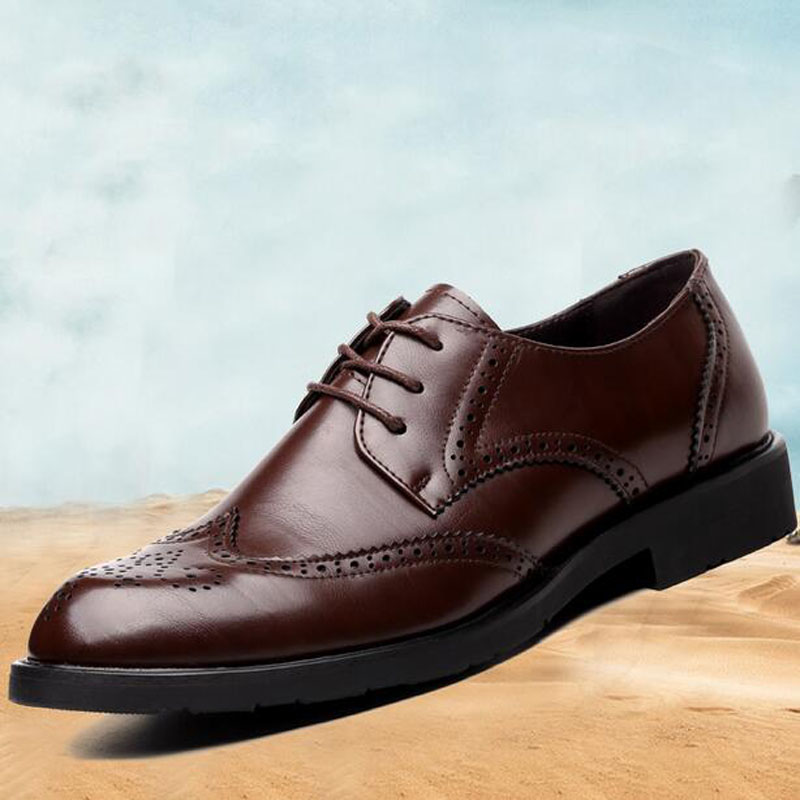 133212ab2b3 Men Shoes Big Size 46 47 48 New Men s Casual Flats Large Yards British  Wedding Shoe Carved Business Zapatos Hombres-in Men s Casual Shoes from  Shoes on ...