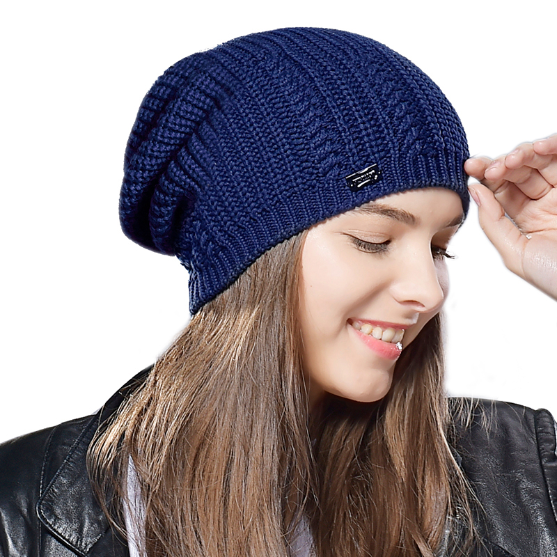 FURTALK winter women knit hat