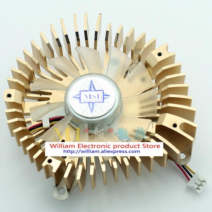 Նոր բնօրինակ MSI սկիպիդար 43 * 43 մմ VGA - Համակարգչային բաղադրիչներ - Լուսանկար 3