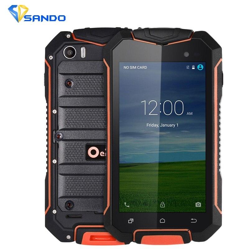 D'origine Oeina XP7700 A1 Smartphone Quad Core Android 5.1 4.5 pouces GPS Antipoussière Antichoc Gravité Capteur Mobile Téléphone Portable