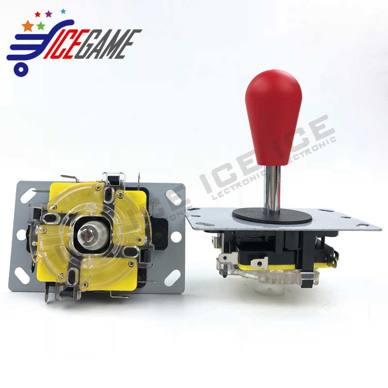 Made in China Style Sanwa Arcade machine controller Joystick with oval ball top 4/8 Way Operation Fighting