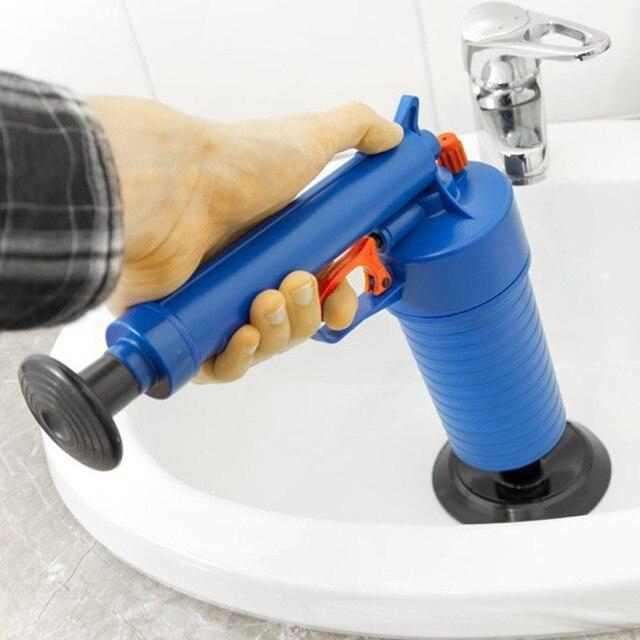 Pression Salle De Bains Drain Plancher Drague Baignoire Plongeur Toilettes Gonfleur Propre En Plastique