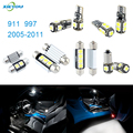 XIEYOU 10pcs LED Canbus Interior Lights Kit Package For 911 997 (2005-2011)
