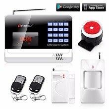 Wireless120 Strefy Obrony Domu Włamywacz System Alarmowy Auto Wybierania Dialer GSM Alarm Bezpieczeństwa Angielski/Rosyjski/Hiszpański Głosu