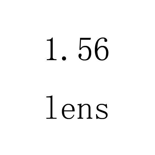 1.56 lentes de Resina anti-radiação lente Miopia hipermetropia