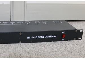 Image 4 - Gratis Verzending Beste Kwaliteit 8CH Dmx Splitter DMX512 Licht Podium Verlichting Signaal Versterker Splitter 8 Manier Dmx Distributeur