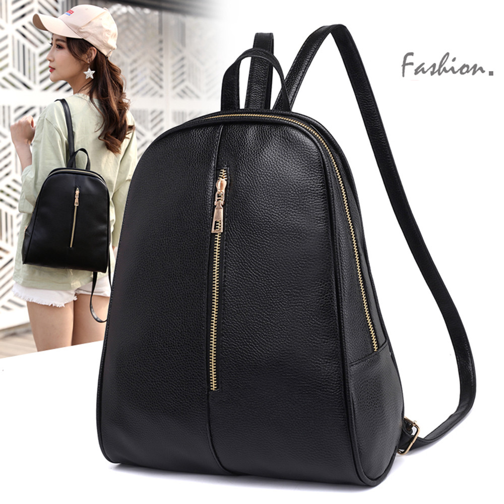 Ocardian Women Small Backpack Leather Backpack Cute School Bags For Girls Fashion Shoulder Bag Female Backpack Wholesale A 30