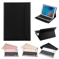 Thin Folio Cover With Removable Aluminum Bluetooth Keyboard For 10 5 IPad Pro Fashion Convenience 17OCT17