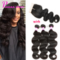 Peruvian Virgin Hair With Closure Body Wave With Closure 8A Unprocessed Virgin Hair Peruvian Virgin Hair Body Wave With Closure