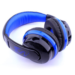 Wireless Stereo Bluetooth Headphone Noise Cancelling Headset with Mic Support FM/SD Card  for Phone MP3