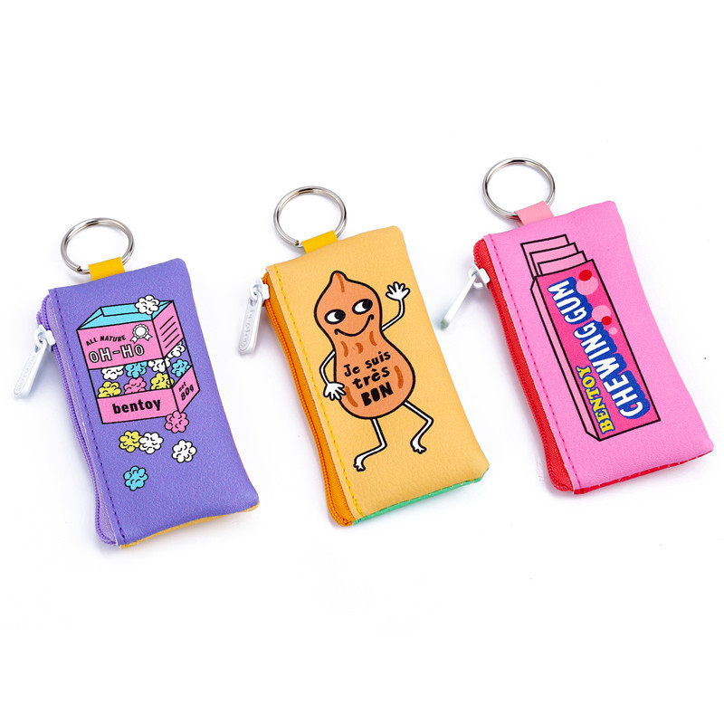 Cute Cartoon Coin Purse Storage Keychain Bag For Flash Card USB Phone Cable Data Travel Accessories Earphone Organizer Bag Case in Coin Purses from Luggage Bags