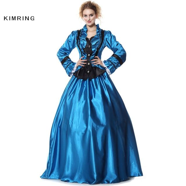 Online Shop Kimring Civil War Victorian Period Halloween Costume ...