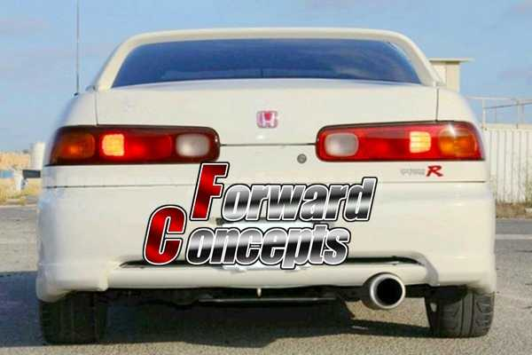 Fits 98 01 Acura Integra DC2 Type R Style Front Bumper Lip
