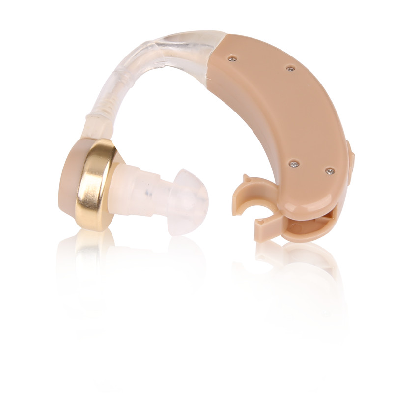 Health And Beauty Aids: Hearing Aid Mini Behind Ear High Low Tone And Convenient