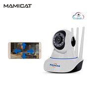 2MP WIFI IP Camera 1080P WiFi Wireless Surveillance Cameras P2P Security CCTV Network PTZ Cam 3 Antennas Baby Monitor