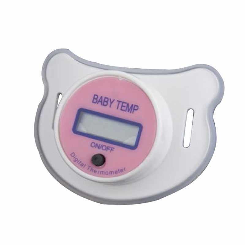Детский соска для младенцев, термометр для сосок, температура Цельсия, ЖК-цифровой рот, Детская безопасность, мягкая соска, ЖК-цифровой термометр