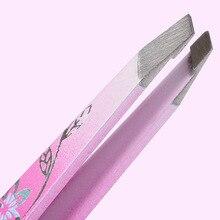 Stainless steel scissors eyebrow pattern super close eyebrow folder eyebrow clip creative boxed Beauty