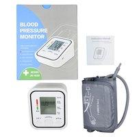 LCD Digital Upper Arm Blood Pressure Monitor Heart Beat Meter Pulse Machine Automatic Blood Pressure Monitor tonometer manometer
