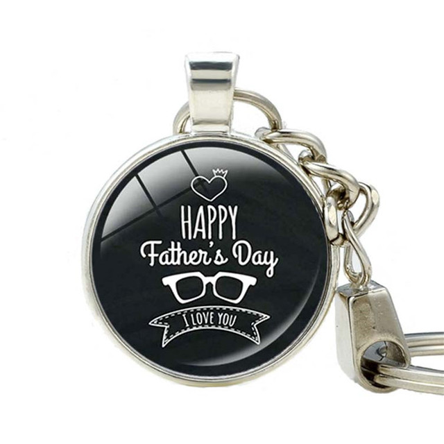 Father's Day Style Keychain