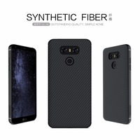 Back Cover Case For LG G6 NILLKIN Synthetic Fiber Back Cover Case PP Back Shell For