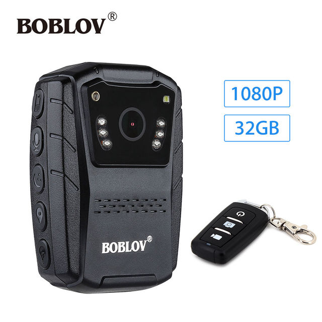 "BOBLOV S70 1080P 32GB 2.0"" HD LCD Night Vision Body Worn Camera Security IR DVR Video Camcorder Guard Recorder+Remote Control"