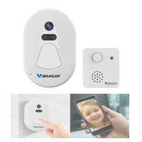 Unique WiFi Wireless Doorbell Camera With Snapshot Alarm App Photo Intercom