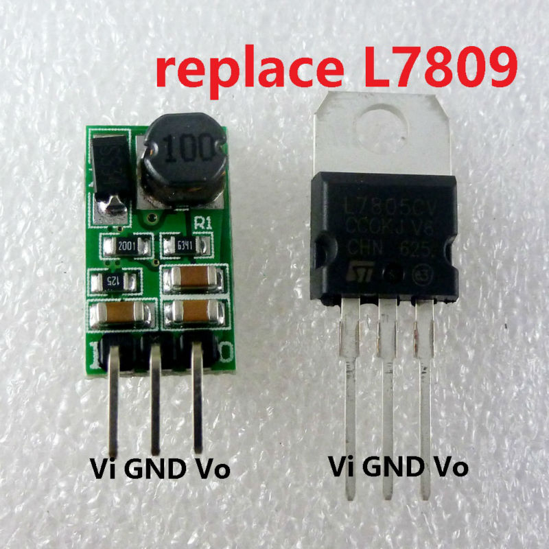 Dd4012sa_9v 8 Watt 12-40 V Zu 9 V Spannungsregler Dc-dc Konverter-abwärts Buck Modul Ersetzen Lm7809 L7809 Wifi Router Set