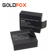 2 x 3.7V 900mAh SJ4000 SJ5000 SJ6000 Battery for SJCAM SJ 4000 5000 Sport Action Camera DV Replacement Rechargeable Batteria