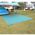 Высокий класс 600D 3 х 3 М Оксфорд водонепроницаемый открытый кемпинга пикник ткань коврик палатка плотной ткани брезент тента без аксессуары