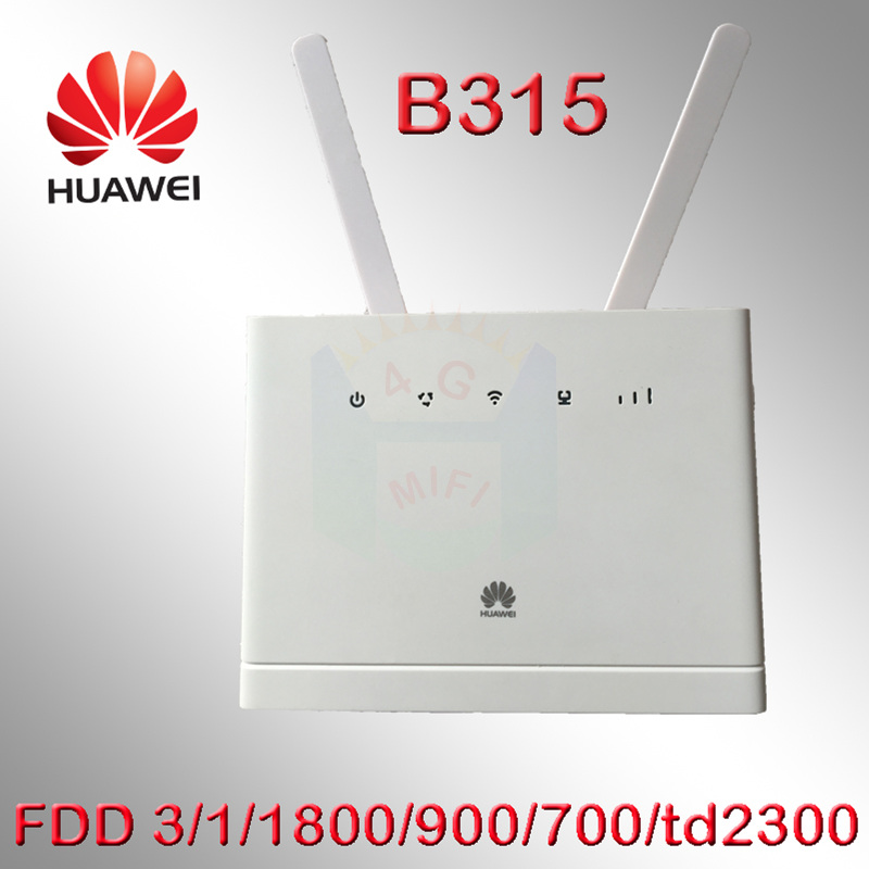 все цены на Unlocked B315s-607 Huawei B315 4G LTE Mobile Wi-Fi Router Hotspot 150 Mbps cpe router wifi dongle pk b890-66 b593 b3500 e5172