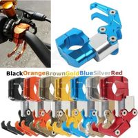 Motorcycle Motorbike Universal Carry Helmet Bottle Hanger Holder CNC Aluminum Alloy Hooks