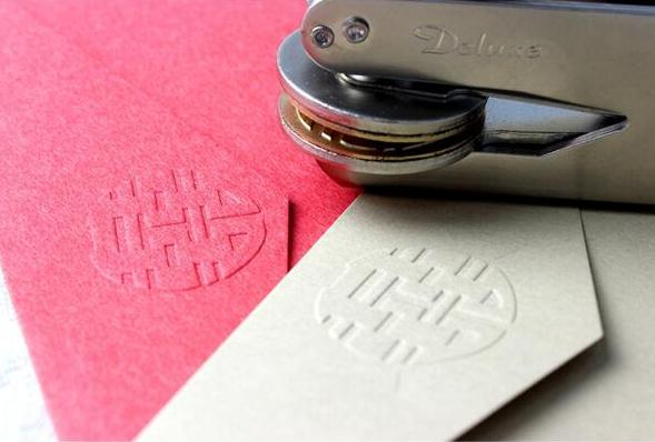 Image 2 - Design Your Own Embosser Stamp / Custom Embosser Seal for Personalized / customize Embossing stamp with your logo,Personalized-in Stamps from Home & Garden