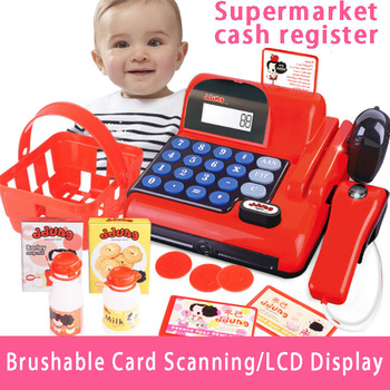Shopping Cash Register Combination Baby Educational Play House Simulation Toy Children's Gift Toy Boy Girl