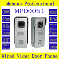 D51b Smart Home Wired Magnetic Lock Waterproof Video door phone,Outdoor Monitor Intercom Door bell with camera