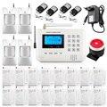 Home alarm system multiple voice беспроводная gsm сигнализация системы безопасности дома с магнитной Двери sensr Motion detector