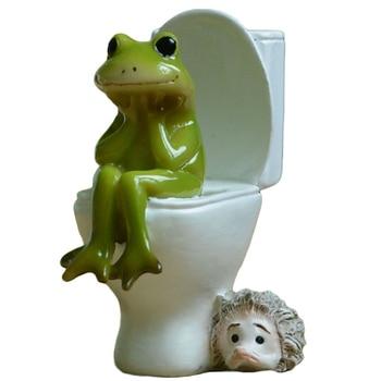 כל יום אוסף חדש נסיעות צפרדע מיניאטורי פסלון פיות גן קישוט הבית בונסאי משרד שולחן העבודה דקור Creative מתנה